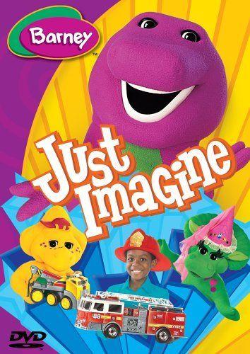 Barney Just Imagine Dvd Barney Http Www Amazon Com Dp B0007gp72i Ref Cm Sw R Pi Dp Hs2eub17f7by5 Kids Dvd Barney Kids Shows