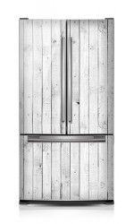 Superbe Magnetic Refrigerator Covers Designed For French Door Type Fridge
