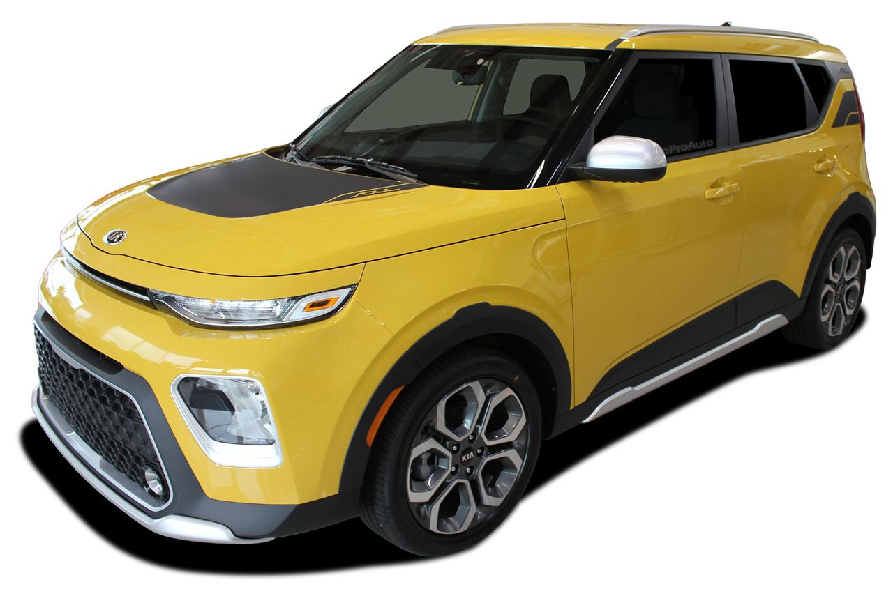 2020 Soul Patch 2020 Kia Soul Hood Decals And Upper Rear Body Accent Stripes Vinyl Graphic Kit Fits 2020 Kia Soul Models Kia Soul Kia Soul Patch