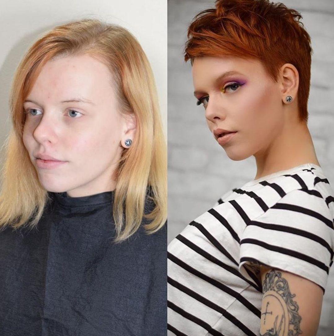 Épinglé par Anony mouse haircutlover sur b+a en 2019