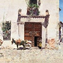 muurdecoratie wanddecoratie schilderij prado museum waterdrager diego velazquez