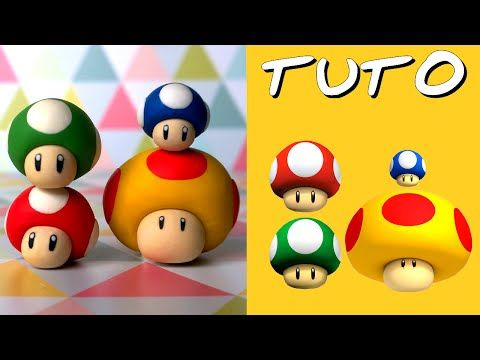 Tuto Fimo Fleur De Feu De Mario Facile Youtube Clay
