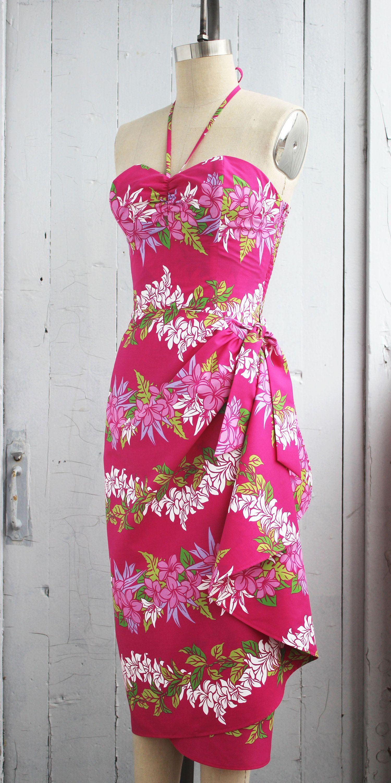 Robe sarong hawaïenne Robe pin-up Robe Tiki Robe | LILO and stich ...