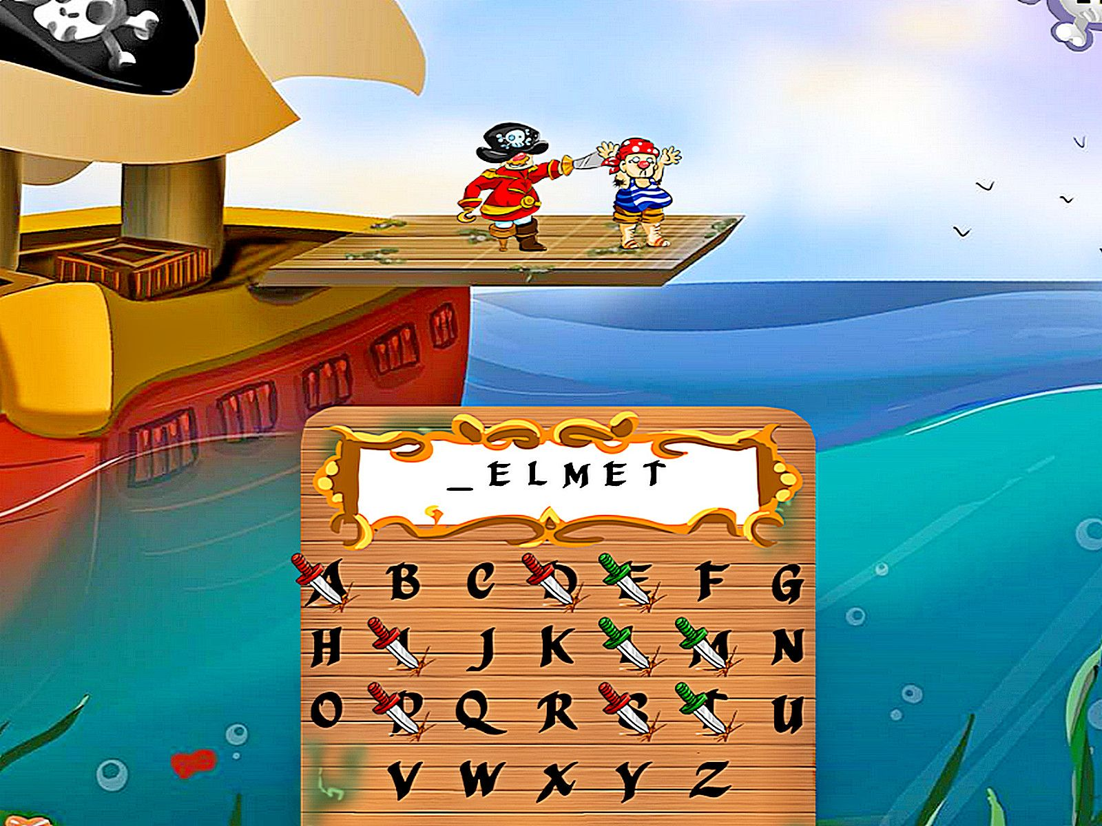 Captain Hangman Game (With images) Game of the day, Word