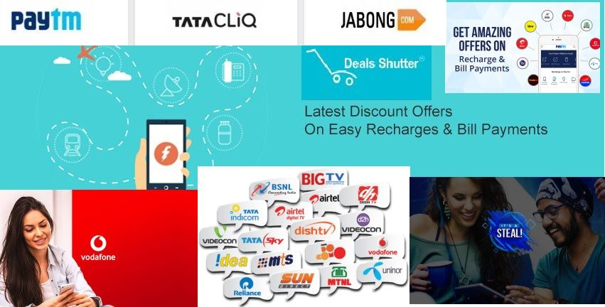 ebe4ae38672 Save your money on  Recharges and  Bill  Payments by using  Coupons ...