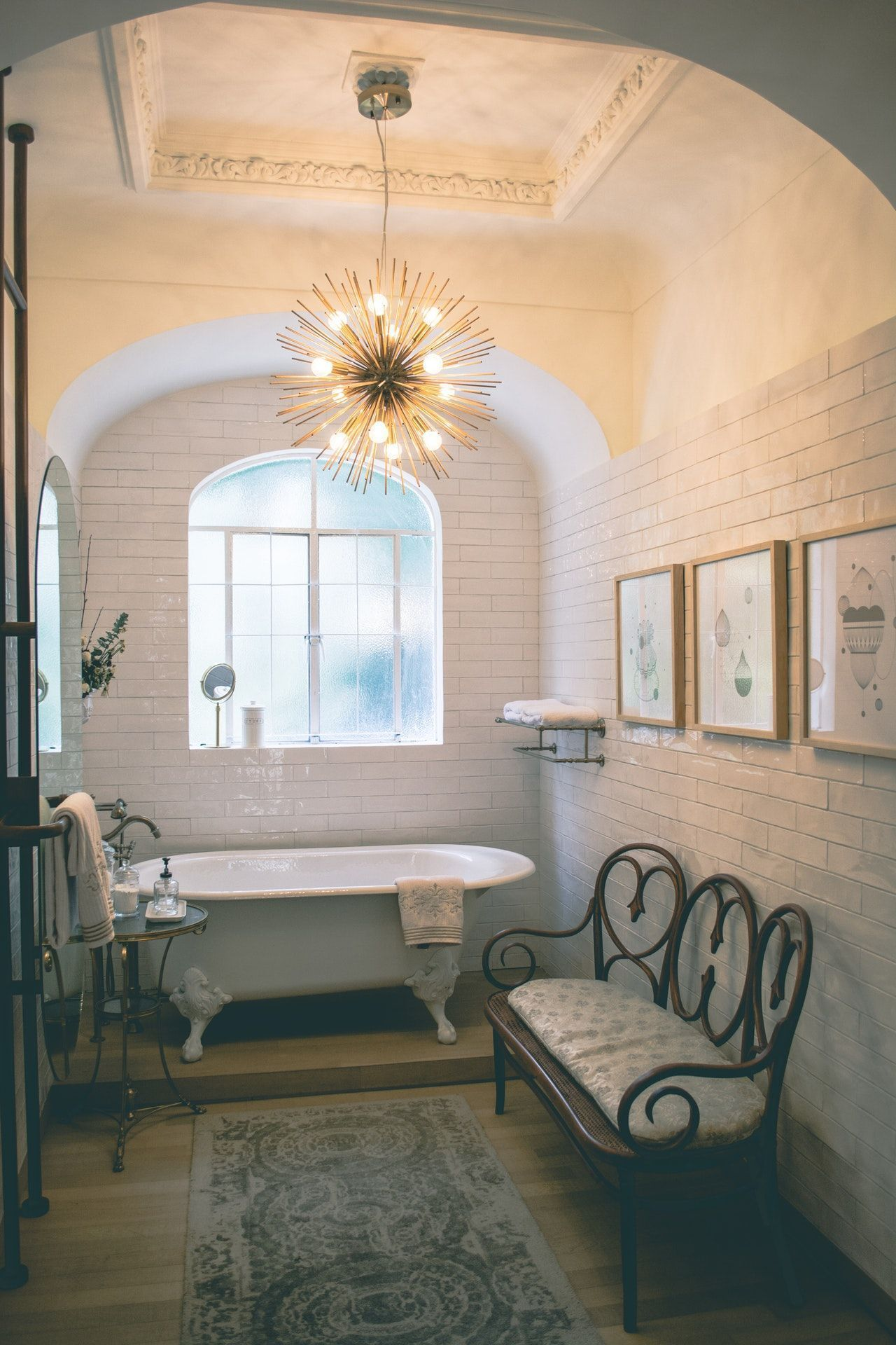 creative design tips for a narrow bathroom  bathroom