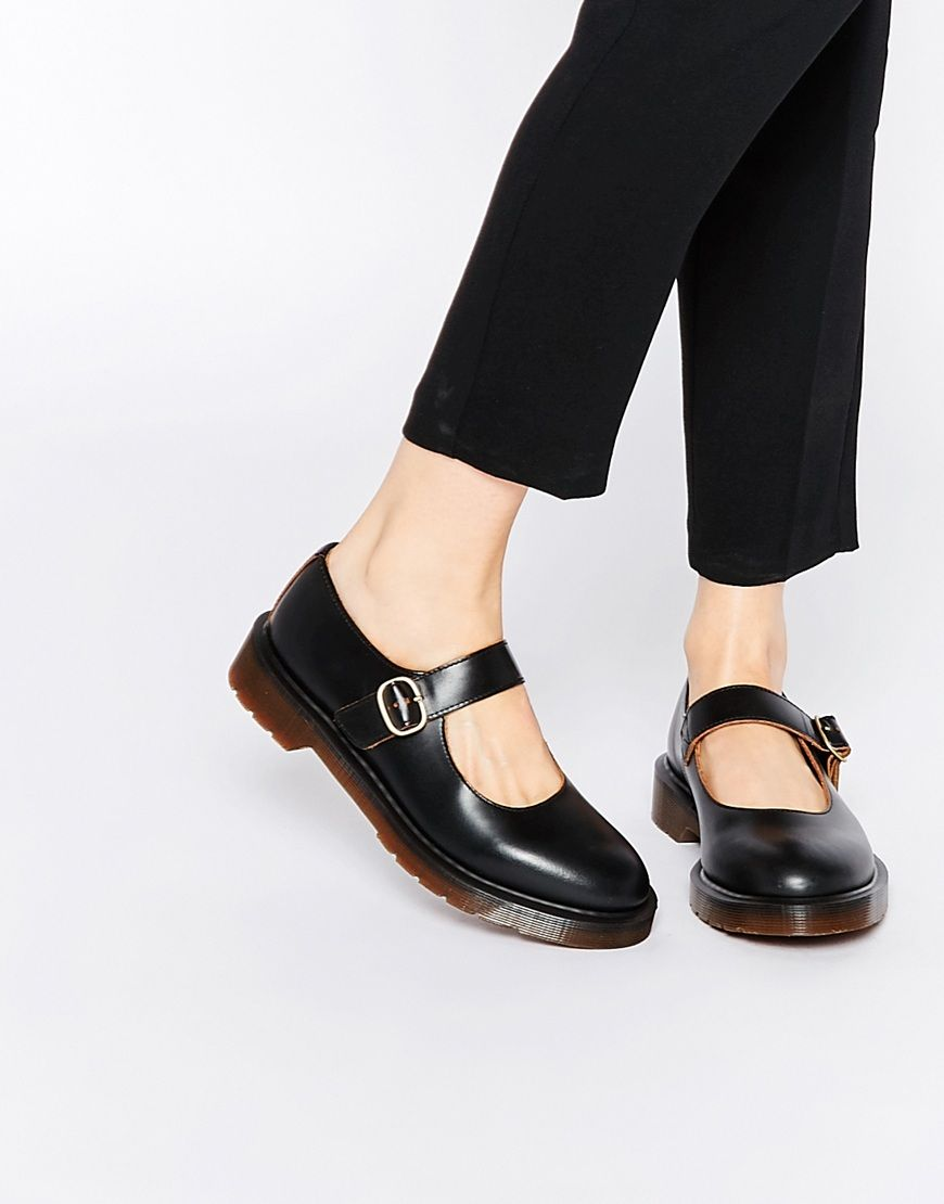 Dr Martens Archive Indica Mary Jane Flat Shoes at asos.com