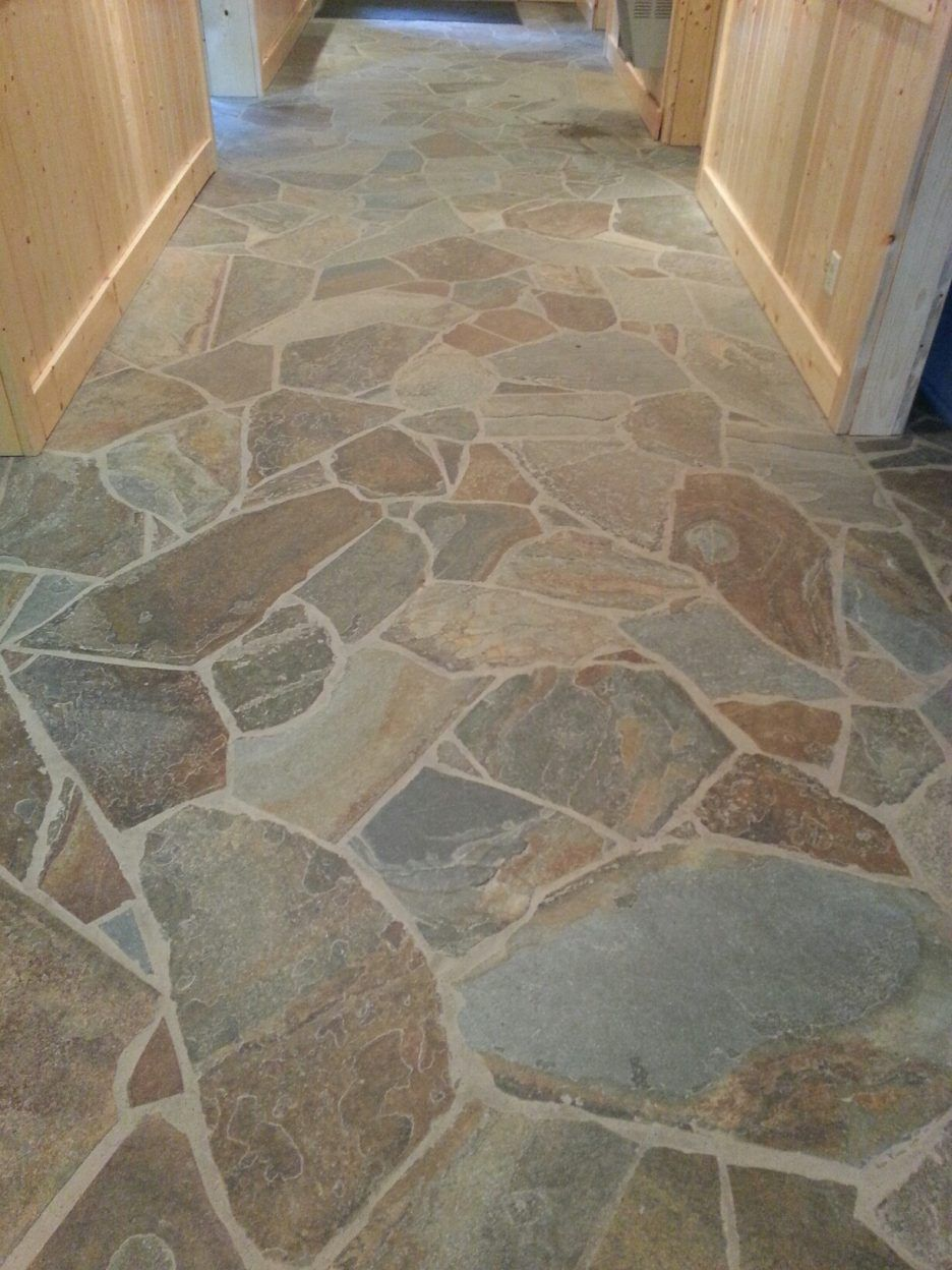 Image Result For Flagstone Interior Stone Tile Flooring Natural Stone Tile Floor Flagstone Flooring