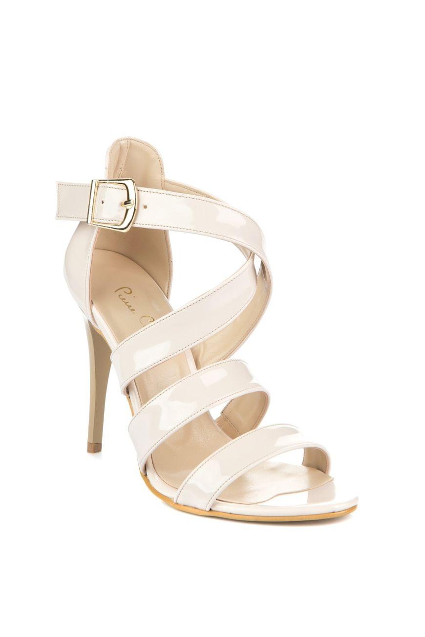 49922f5e0a0e Pierre Cardin Topuklu Ayakkabı Krem