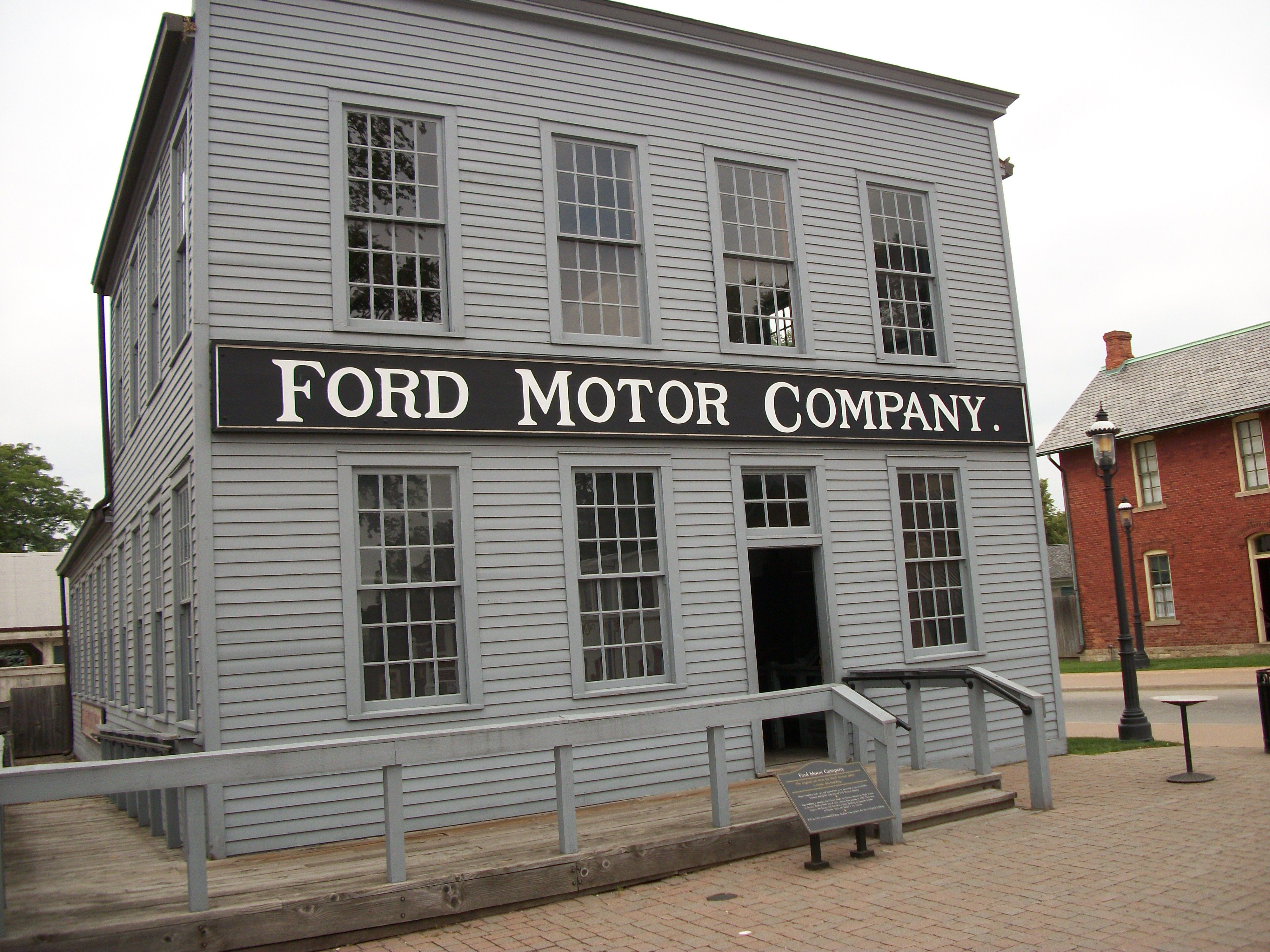 Ford motor company mack avenue plant at greenfield village for Ford motor company museum