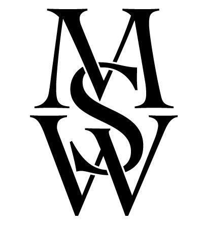 Mws Monogram Oud Jpg 400 443 Cartao De Visita Preto Alfabeto Monograma Ideias De Tatuagens