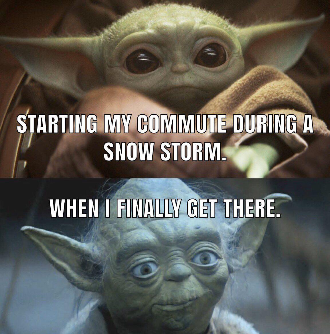As A Bus Driver I Did Chuckle At This Themandaloriantv Yoda Funny Yoda Meme Star Wars Memes