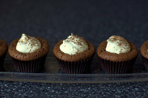 Chocolate Soufflé Cupcakes Recipe on Yummly