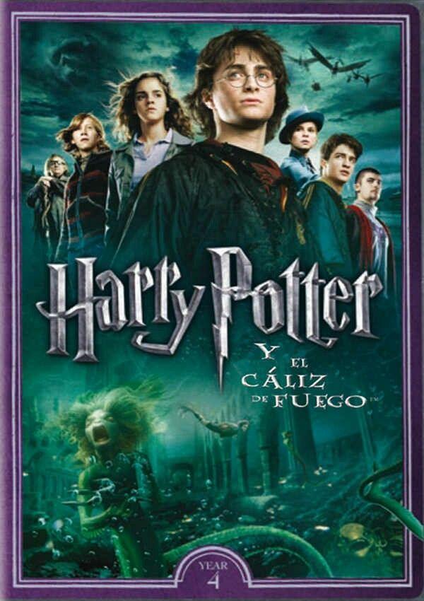 Harry Potter Y El Caliz De Fuego Goblet Of Fire Harry Potter Dvd Harry Potter Goblet