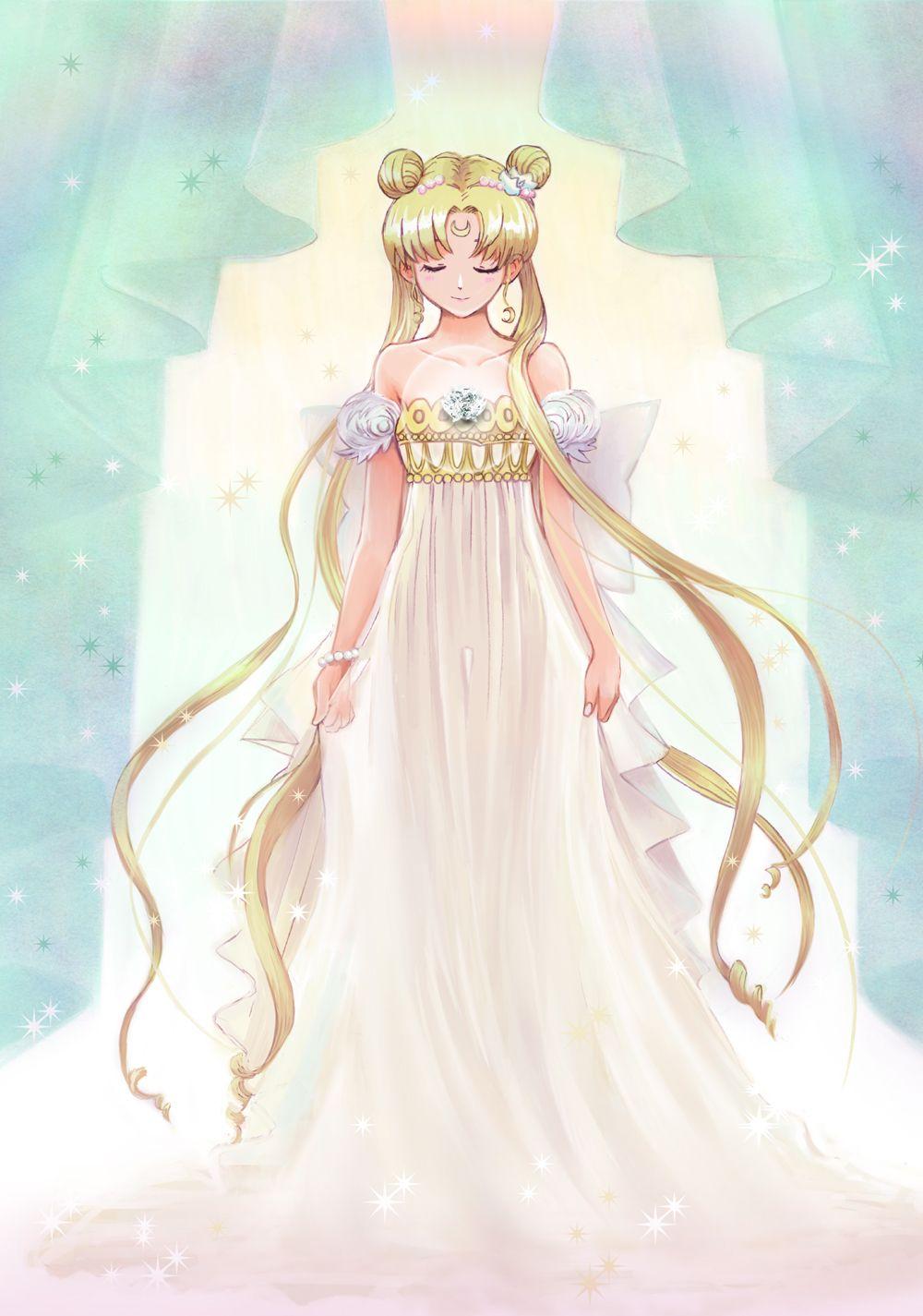 princess serenity by pixiv id 3739227 anime pinterest