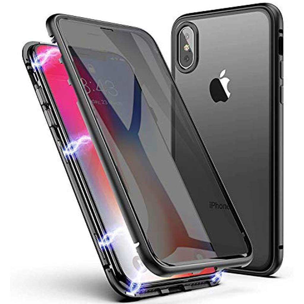 AROYI Cover iPhone 11 2X Pellicola Protettiva in Vetro Temperato