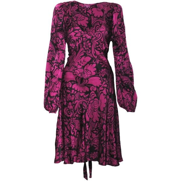 High Quality Cheap Online Buy Best flared sleeves midi dress - Pink & Purple Fisico Supply Online cJurCRq