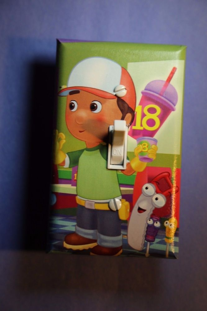 Handy Manny Light Switch Cover boys kids girls child room ...