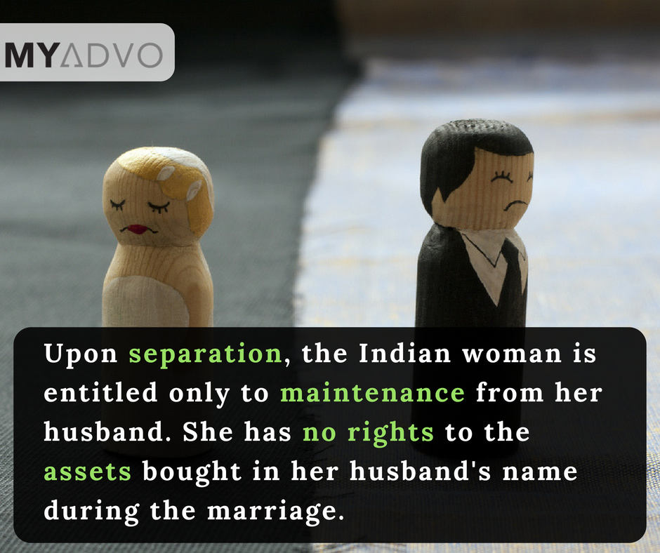 legal separation of marriage in india