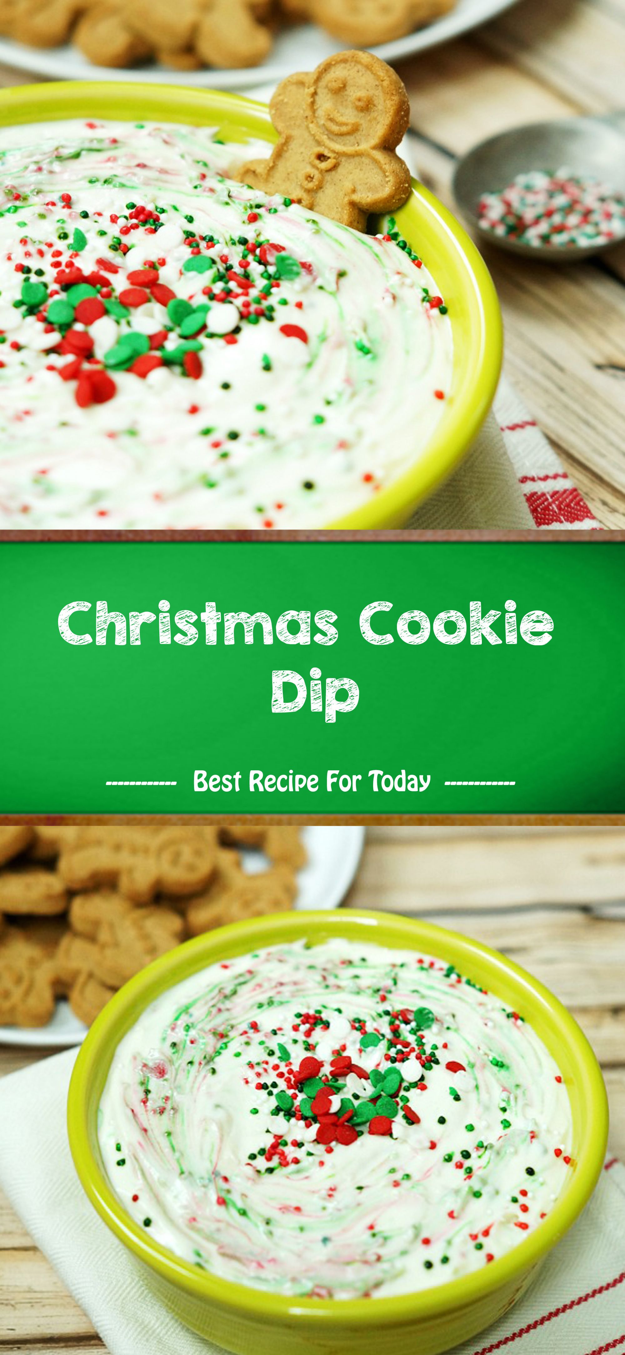 Christmas Cookie Dip Finger food desserts, Yummy food