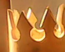 corona calada de lmpara corona de rey artesana en lmparas y jarrones ecobambusa
