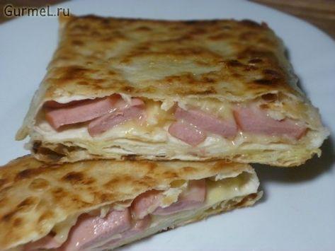 пп завтрак для похудения из лаваша