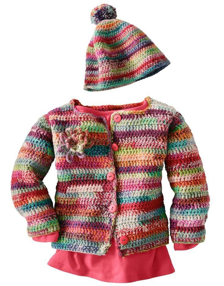 Kinderkleidung und Babysachen stricken und häkeln | Pinterest ...
