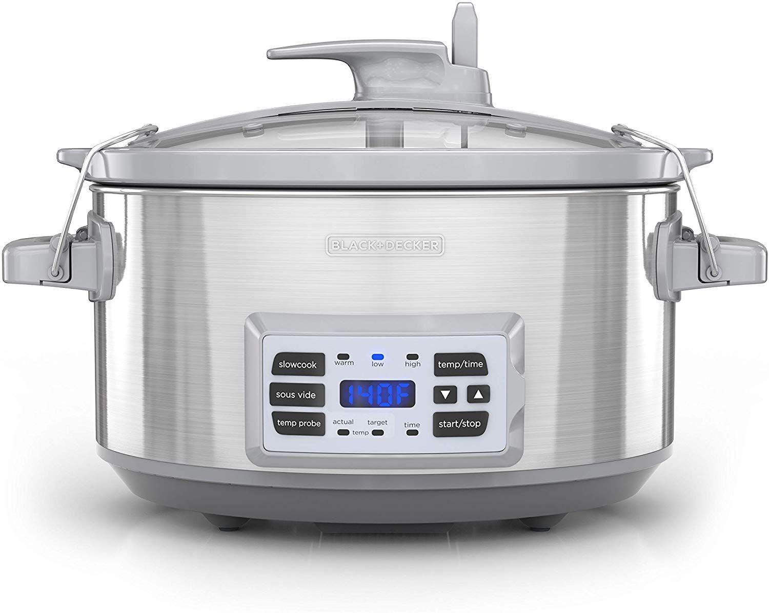 BLACK+DECKER SCD7007SSD 7Quart Digital Slow Cooker with