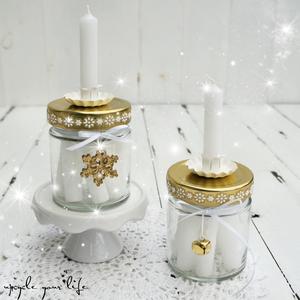 kerzen im glas weihnachten pinterest weihnachten basteln weihnachten und kerzen. Black Bedroom Furniture Sets. Home Design Ideas