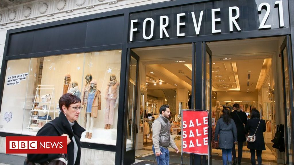 Bankruptcy Files Protection Forever 21 files for