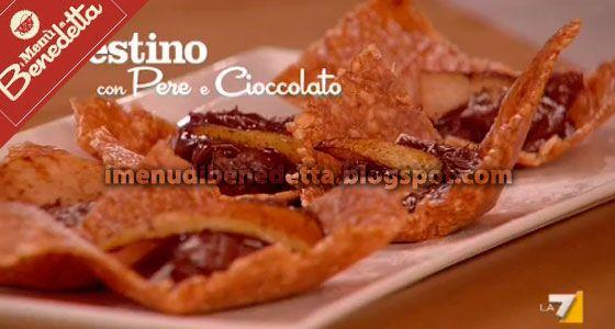 Cestino Cioccolato E Pere Caramellate Di Benedetta Parodi Ricette