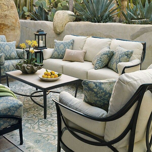 beautiful and classy backyard furniture