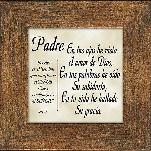 Dad Quotes From Daughter In Spanish: Spanish Español Dad Father's Day Or Birthday Gift