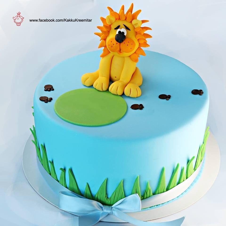 Lion cake by Kreemitär