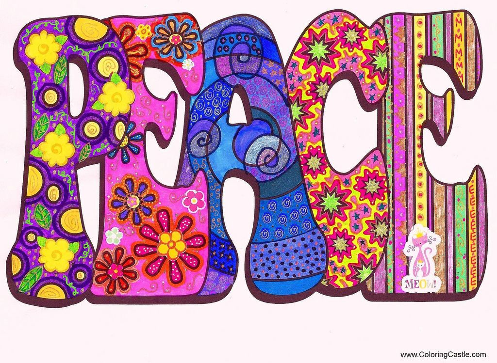 Peace | Peace, Markers and Psychedelic art