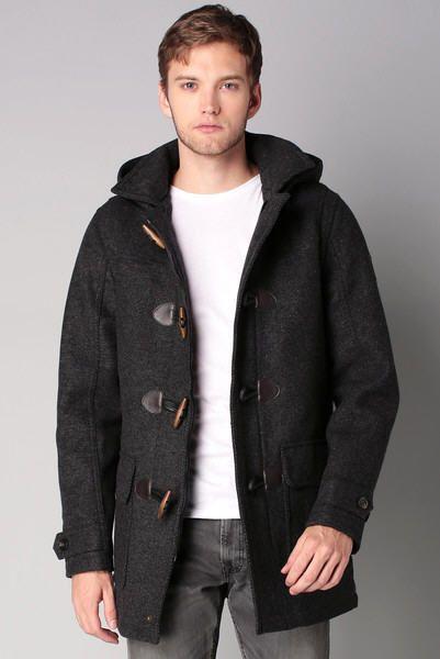 Duffel TailorTJ Henry de grTricot Tom Manteau laine coat iTXZkwOPu