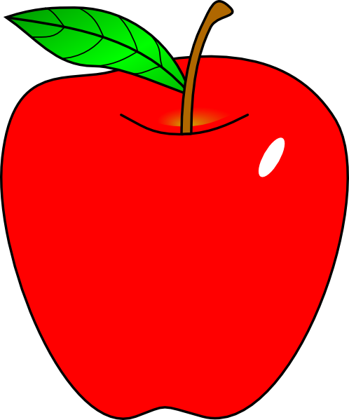 cartoon apple red apple clip art tios pinterest red apple rh pinterest com clipart of apples for teachers clip art of applets and cotlets