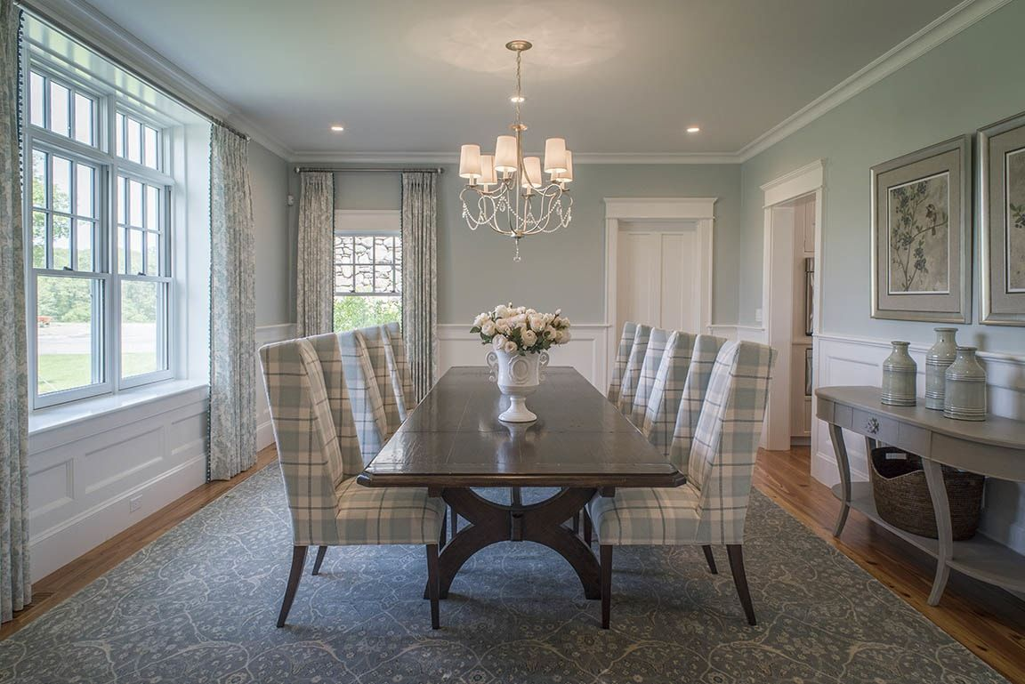 A modern farmhouse dining room makeover contemporary