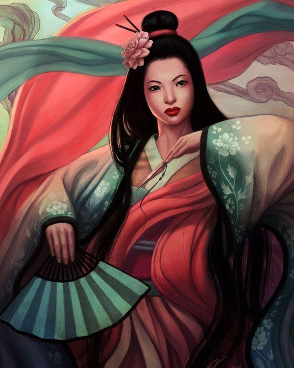 Geisha art - exquisite!