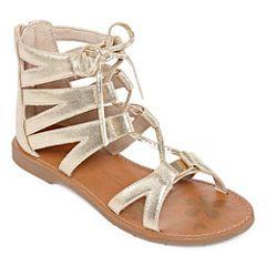 c4a1bee794c76 Arizona Mirth Girls Gladiator Sandals - Little Kids