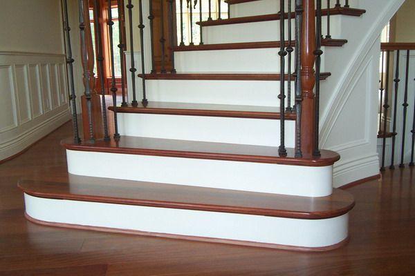 Carpet Stairs Style Modern Design Wood Flooring White   R ...