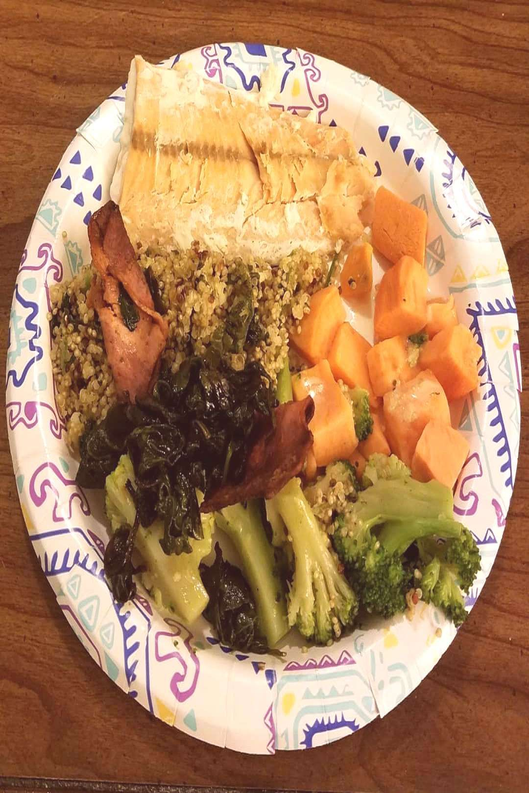 #dinner #really #hungry #every #nice #last #food #was #not #but #ate #i #p  Dinner was nice. I was not really hungry, but I ate every last pYou can find Trying to be healthy and more on our website. Dinner was nice. I was not real...