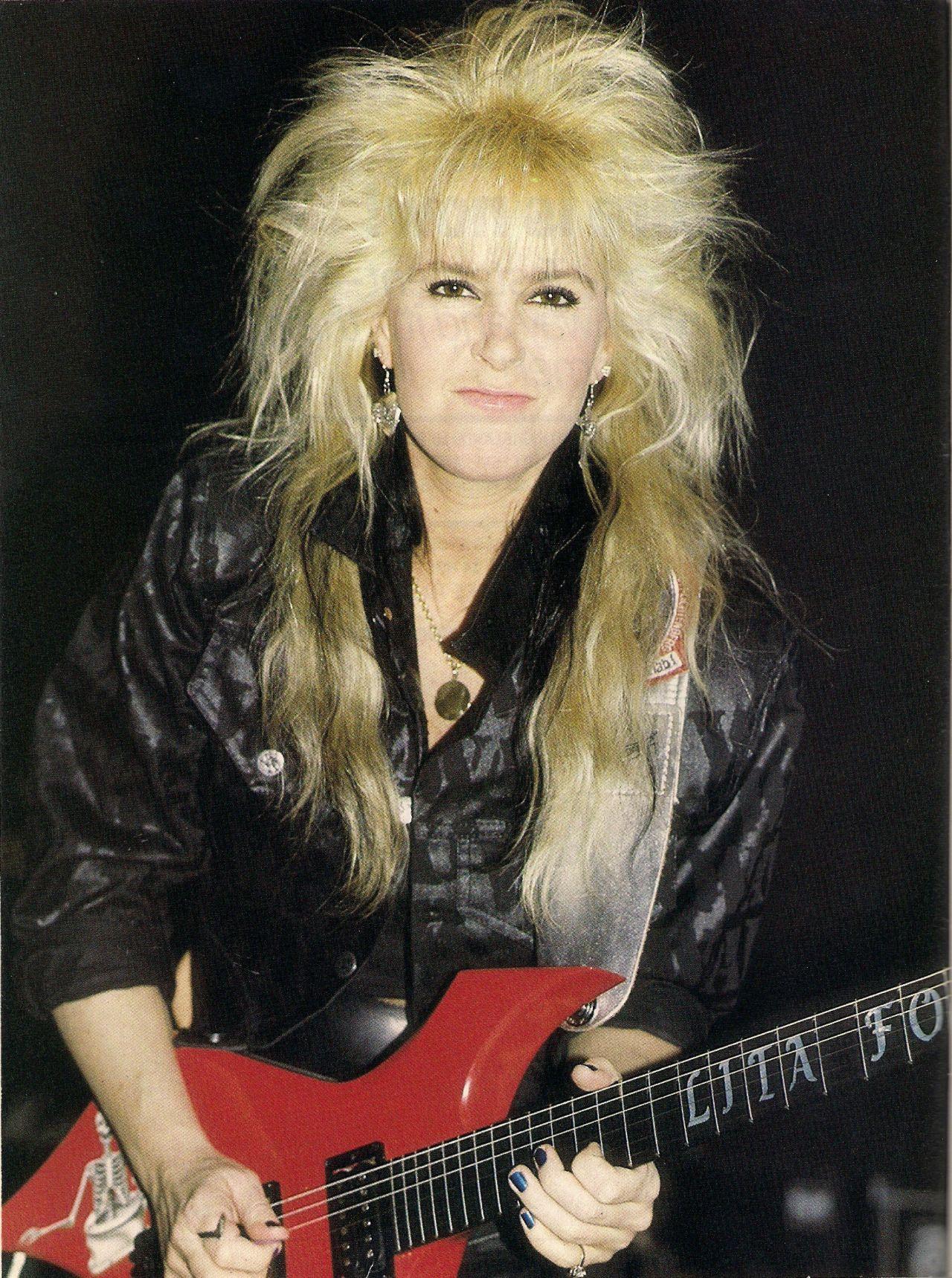 80's Hard Rock & Metal Lita ford, Lita, Female guitarist