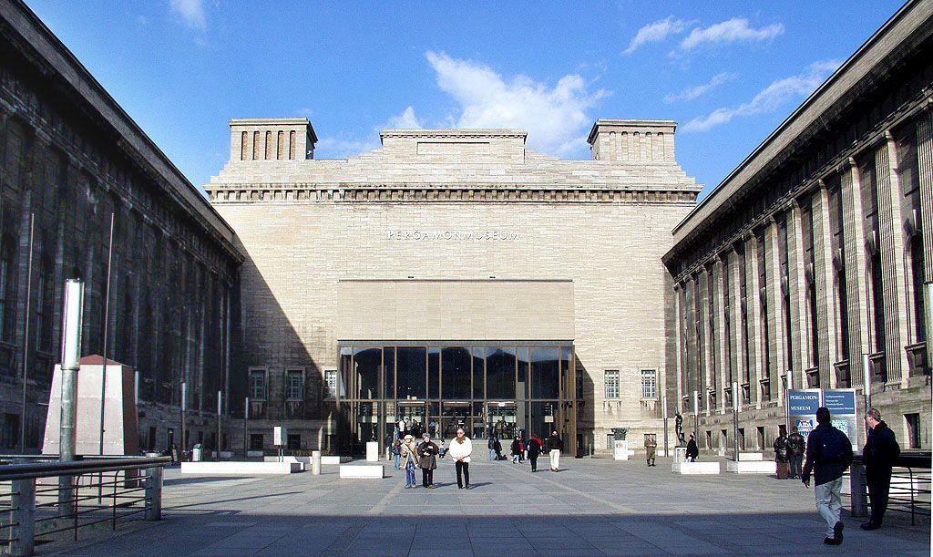 Museumsinsel Museum Island Berlin The Pergamon Museum Is Situated On The Museum Island In Berlin The Site Pergamon Museum Pergamon Pergamon Museum Berlin