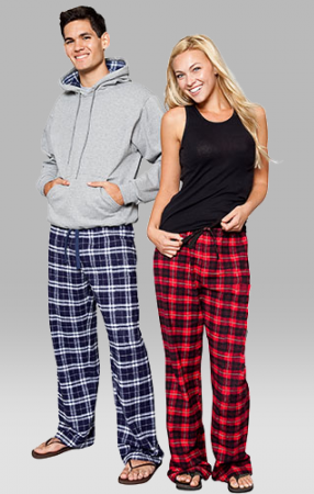 52bf07c3cd Boxercraft Red and Black Plaid Unisex Flannel Pajama Pant