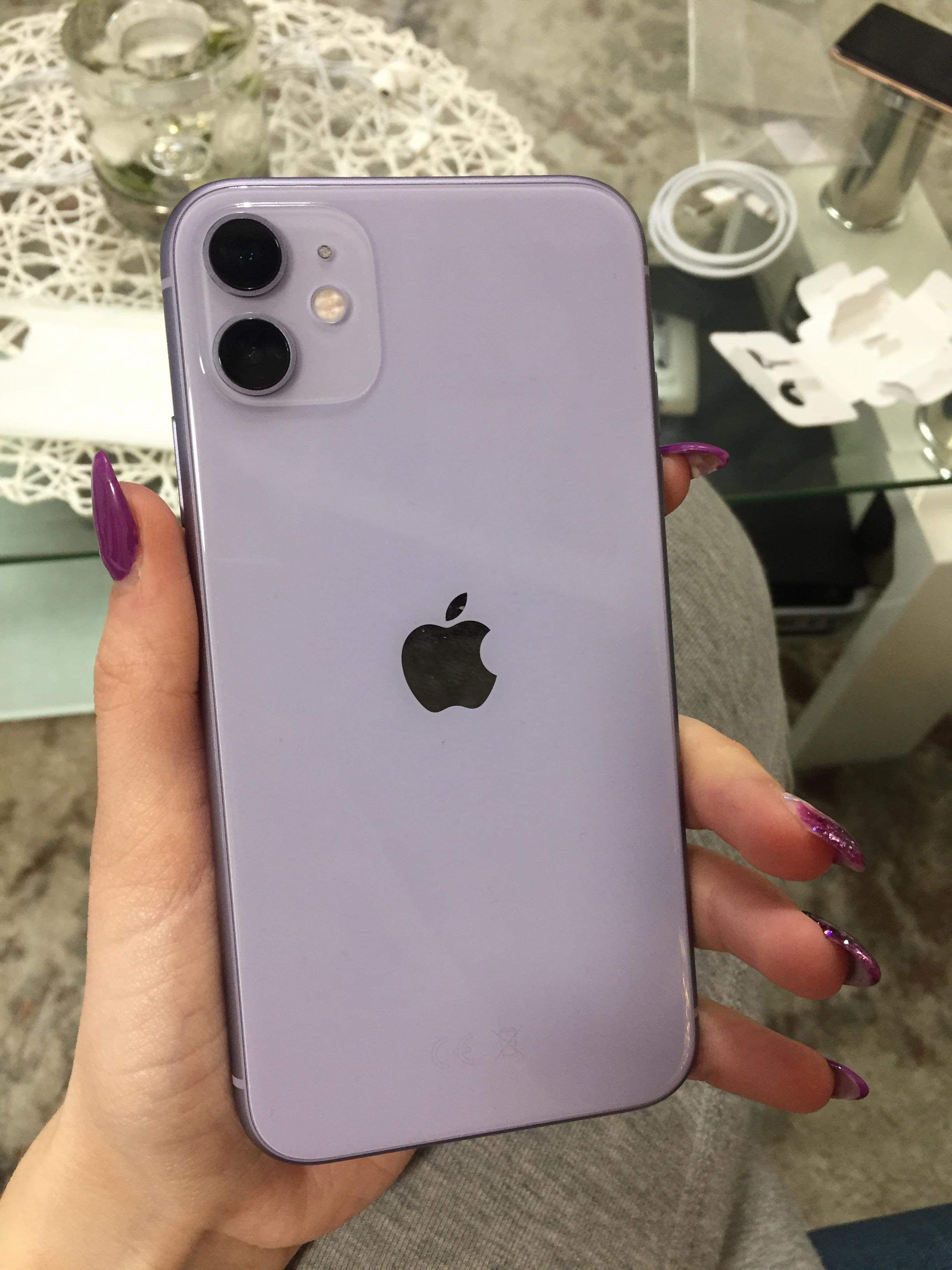 Pin On Cover Screen Lock Home Screen Iphone Obsession Apple Phone Purple Iphone 11