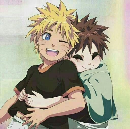 Gaara and Naruto kids :3 | Ninja the katha | Naruto ... Gaara And Naruto Kids