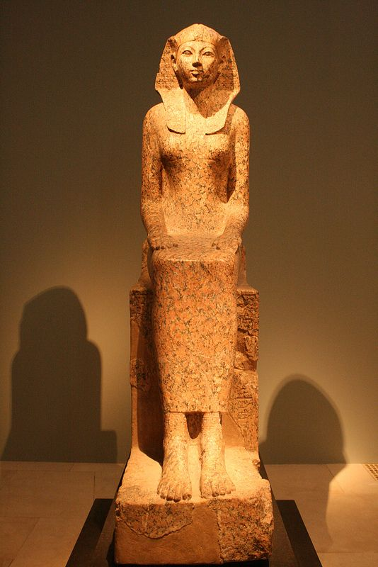 the female pharao hatshepsut dynasty 18 granite ca 1473 1458 b c from thebes egypt. Black Bedroom Furniture Sets. Home Design Ideas