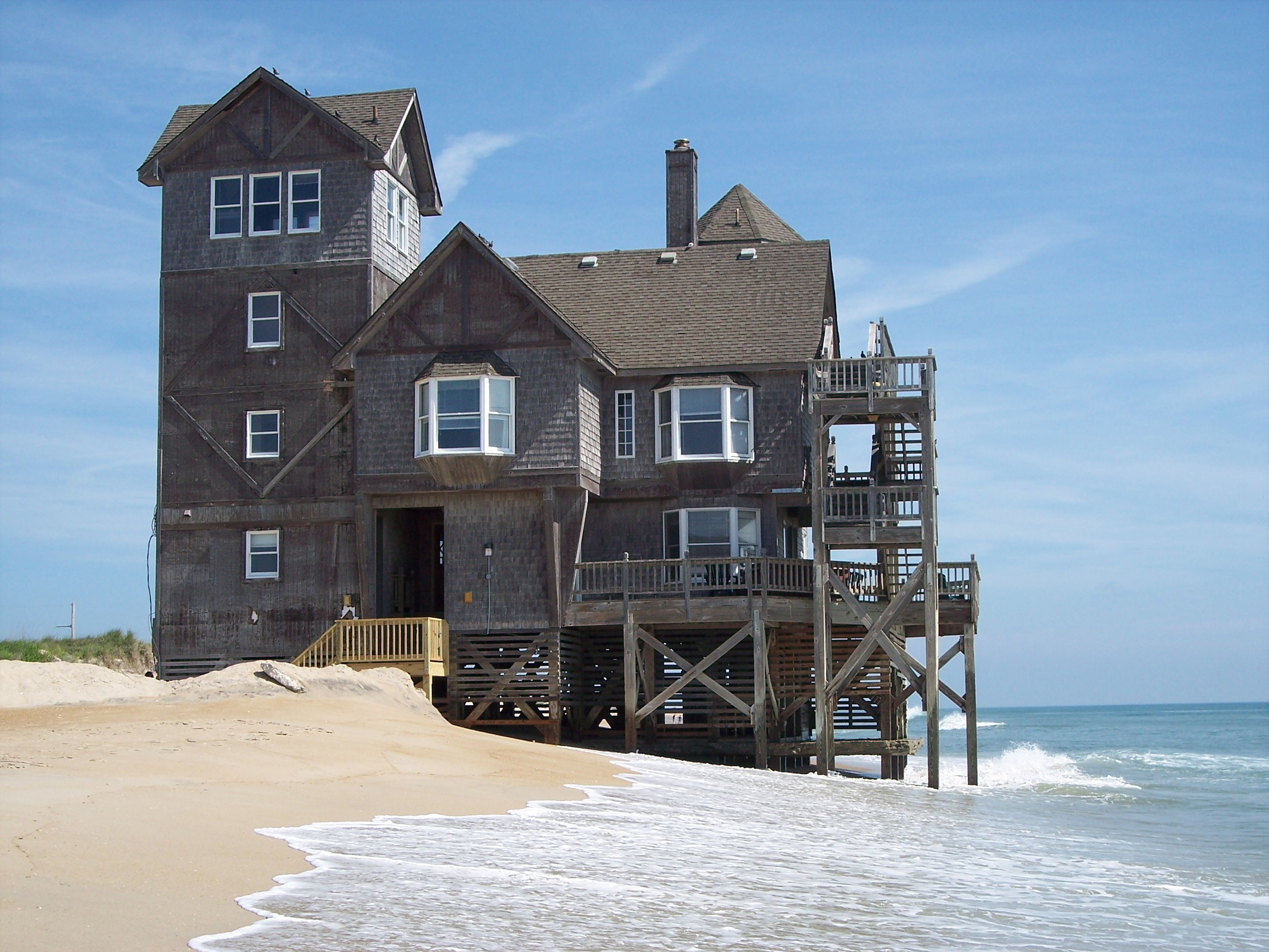 nights in rodanthe house! what a cool place Travel