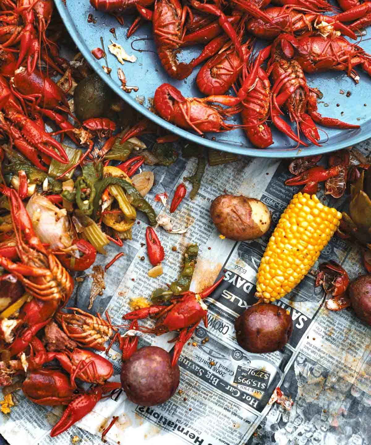 Crawfish boil recipe food recipes boiled food mardi
